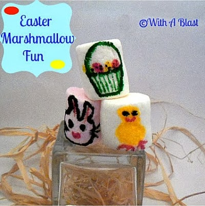 Easter Marshmallow Fun for Kids