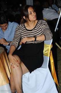 Jwala Gutta Spotted at Veedinthe Spicy Badminton Player Jwala Gutta
