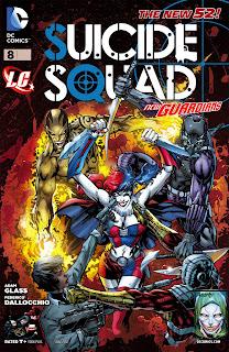 Suicide Squad #008 - 009 Junio-Julio 2012