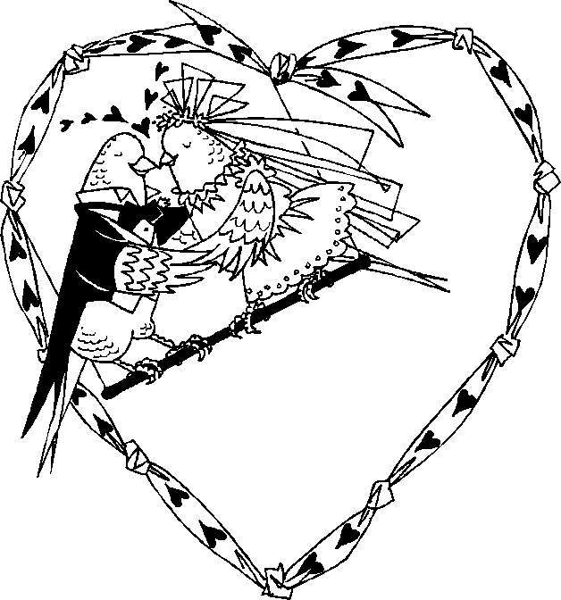 Best Coloring Page Dog Birds Love Coloring Pages And Sheets