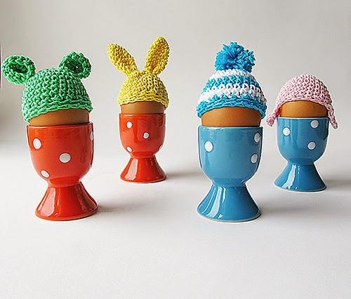free crochet pattern easter egg beanies