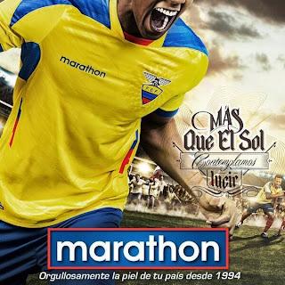 Le maillot de l'Equateur de la Coupe du monde 2014