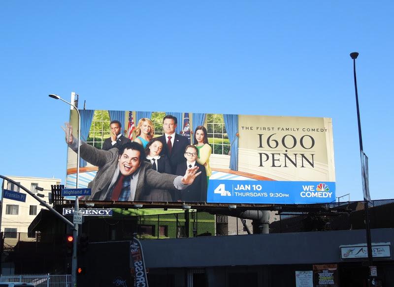 1600 Penn special extension billboard