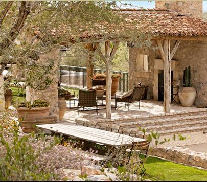 Fotos de terrazas terrazas y jardines terrazas de casas for Modelos de terrazas rusticas