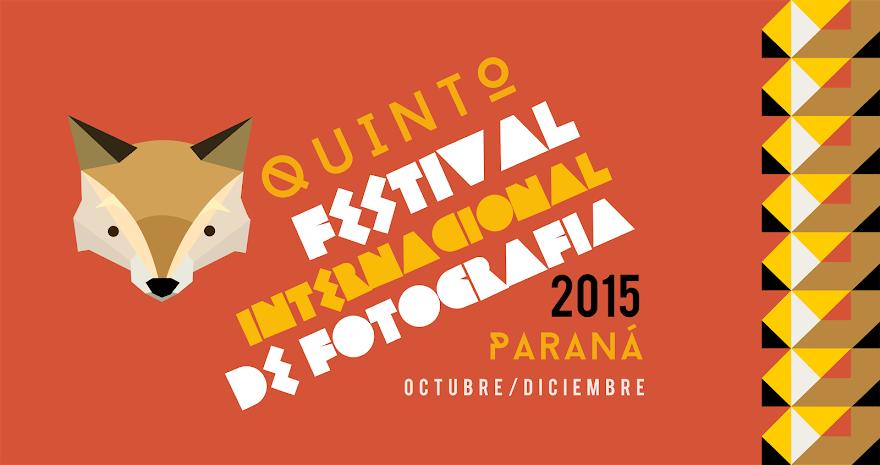 V Festival Internacional de Fotografía de Paraná 2015