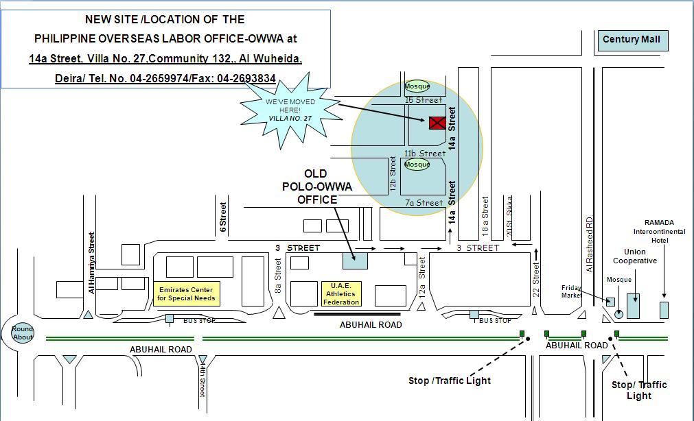 Embassy Manila Location Map - Us embassy manila address map