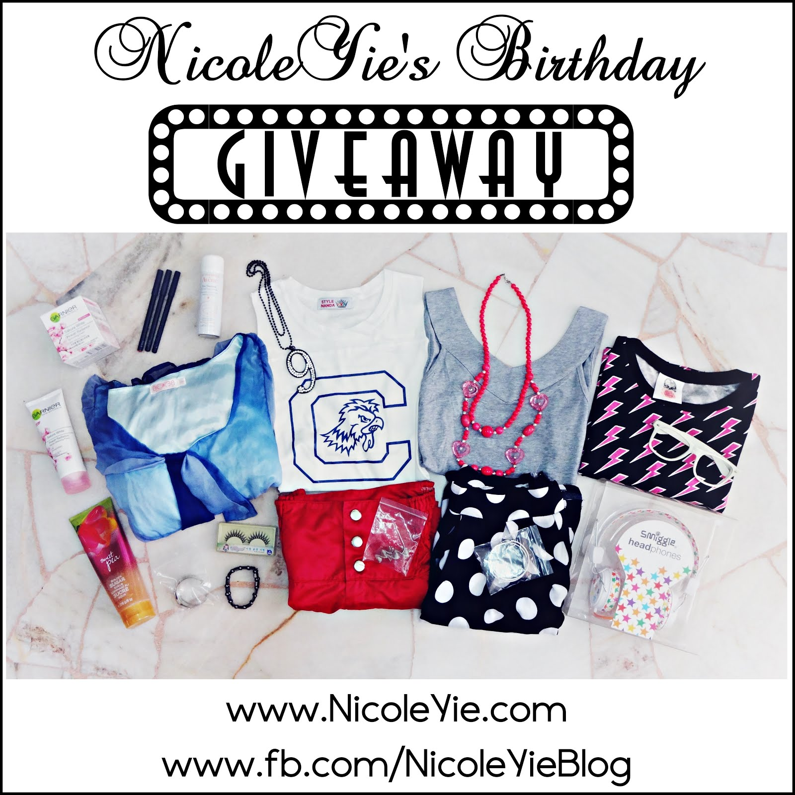 Ongoing Giveaway