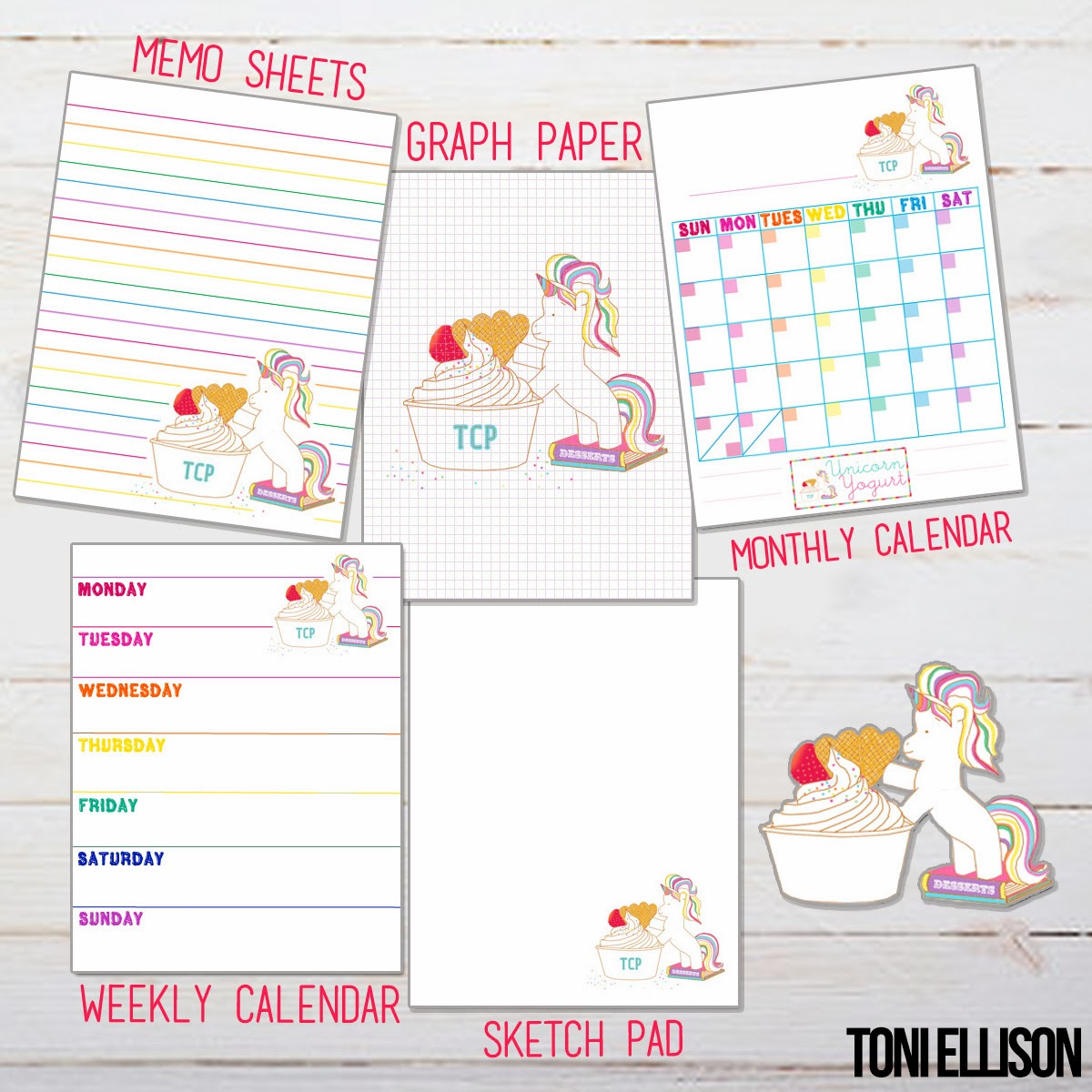 toni ellison agenda planner stationery diy how to make your