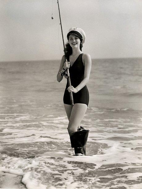 vintage beach ava gardner