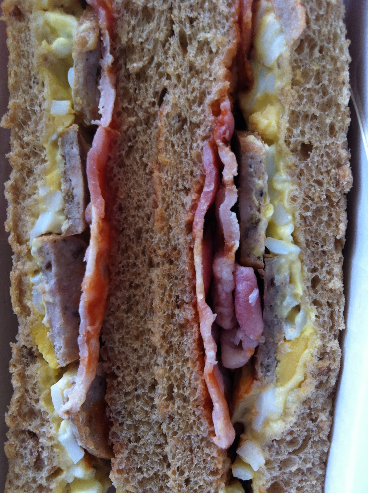 The Fry Up Inspector Tesco All Day Breakfast Sandwich