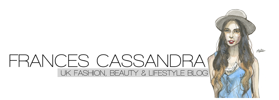 - FrancesCassandra:  UK fashion, beauty and lifestyle blog.