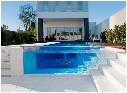 GLASS WALL SWIMMING POOLS