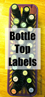 www.created2fly.net: Bottle Top Labels for essential oils - purchase here!