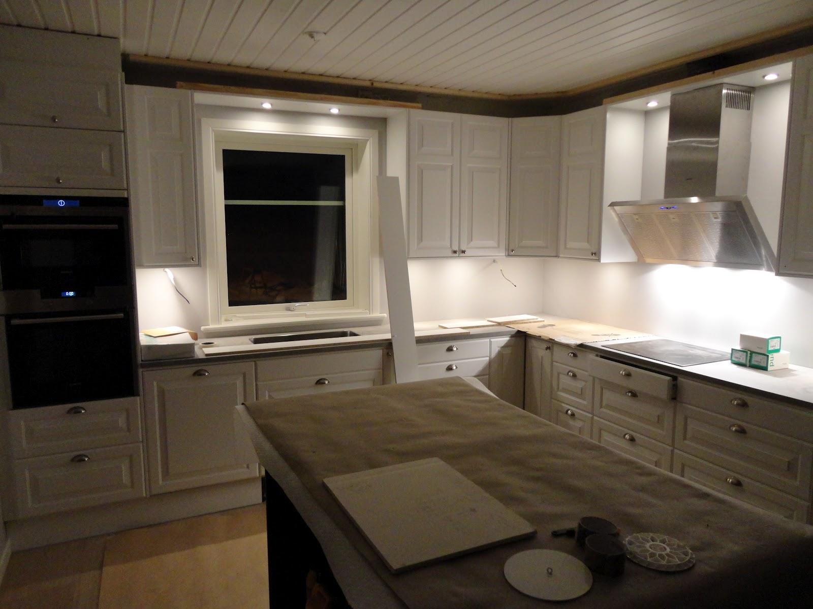Nytt hus på Ön: belysning