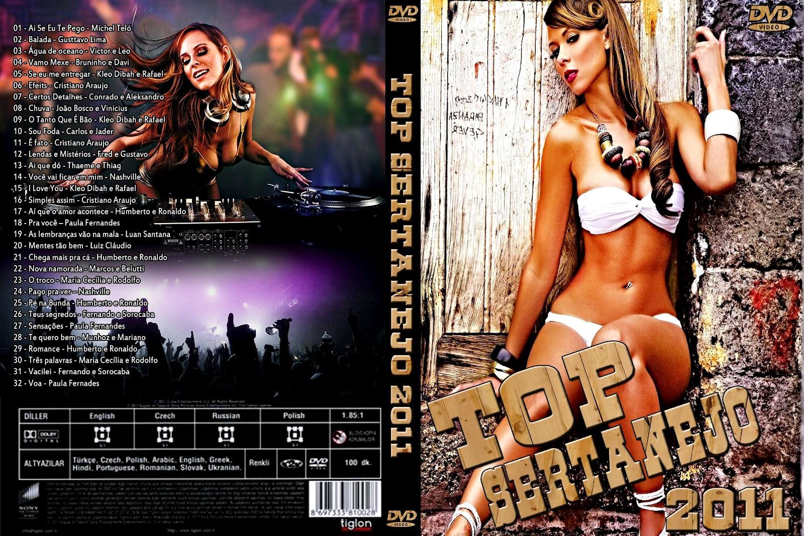 Sertanejo pra namorar download dvd