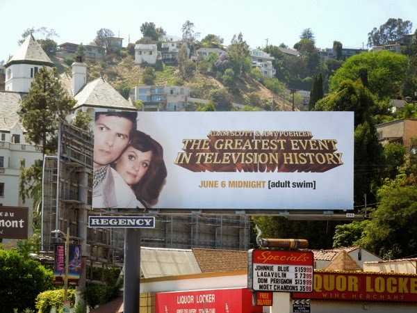 Greatest Event in TV History Hart to Hart parody billboard