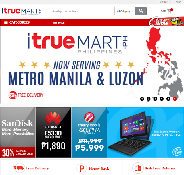 Itruemart now in the Philippines