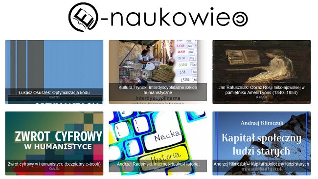 Wybrane publikacje serwisu e-naukowiec.eu