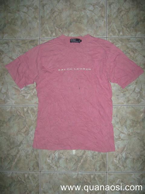 Áo thun POLO body màu hồng giá rẻ 80k