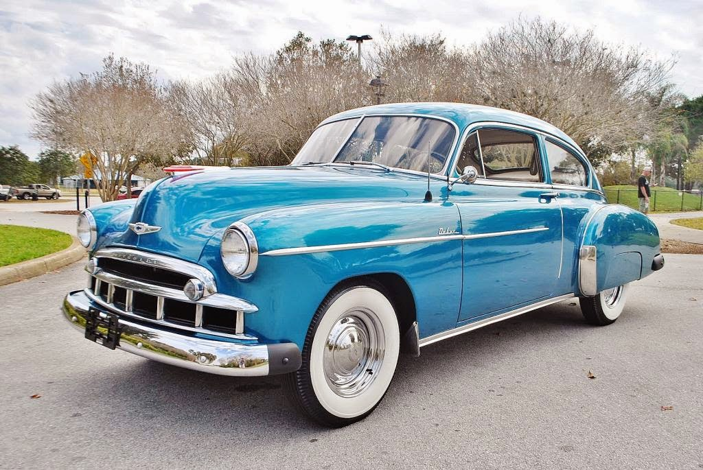 All american classic cars 1949 chevrolet deluxe fleetline for 1949 chevrolet deluxe 4 door