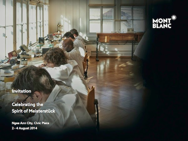 Montblanc: The Spirit of Meisterstück Exhibition, Singapore
