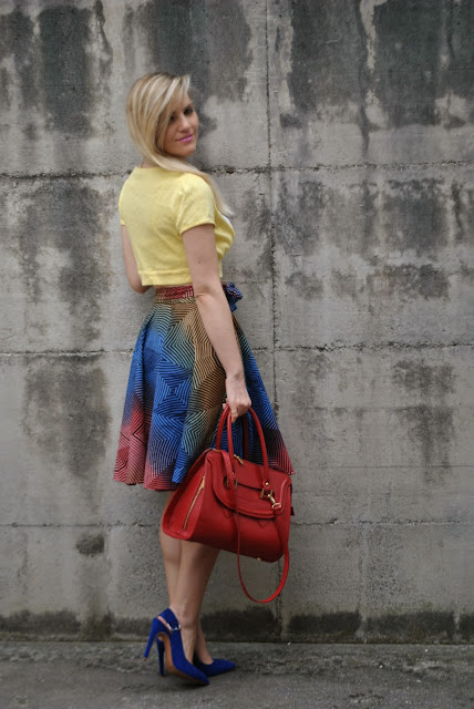 abbinamento giallo come abbinare il giallo crop top giallo mariafelicia magno fashion blogger colorblock by felym fashion blog italiani blog di moda italiani outfit gonna a ruota outfit midi skirt abbinamenti gonna a ruota come abbinare la gonna a ruota gonna a ruota e crop top mariafelicia magno fashion blogger colorblock by felym mariafelicia magnooutfit crop top come abbinare il crop top abbinamenti crop top outfit borsa rossa come abbinare la borsa rossa outfit scarpe blu come abbinare le scarpe blu abbinamenti scarpe blu outfit estivi outfit estivi donna outfit estate 2015 outfit maggio 2015 how to wear round circle midi skirt midi skirt outfit blue heels outfit red bag outfit how to wear blue heels how to wear red bag summer outfit fashion blog italiani fashion blogger italiane blog di moda blogger italiane di moda fashion bloggers italy bloggers girls blonde hair blondie blonde girls
