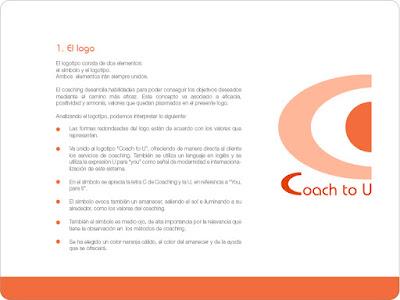 Identidad corporativa coaching. Manual de Identidad Corporativa