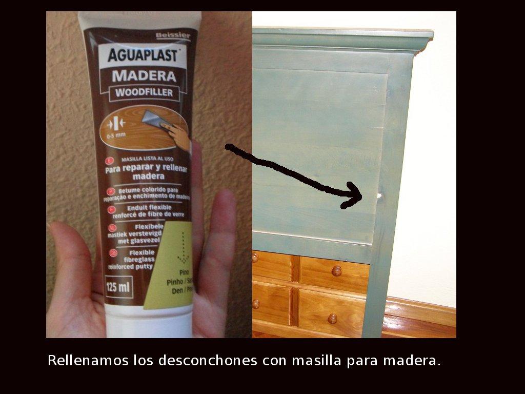 Julio 2012 - Masilla para reparar madera ...