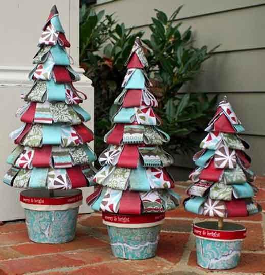 Mi mundo tu mundo empiezan las manualidades navide as con - Manualidades con papel navidenas ...