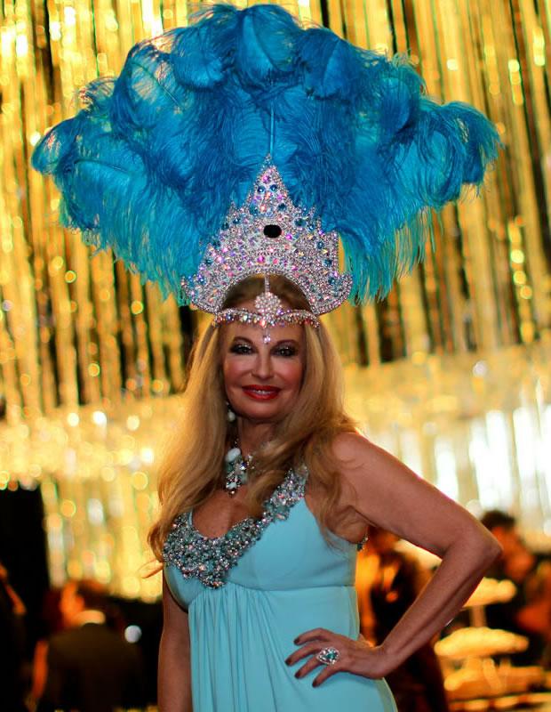 Brunete Fracarolli no baile de gala da Vogue (Foto: Eduardo Lopes)