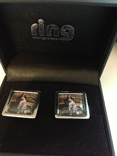 Personalised Cufflinks from RING Jewellers
