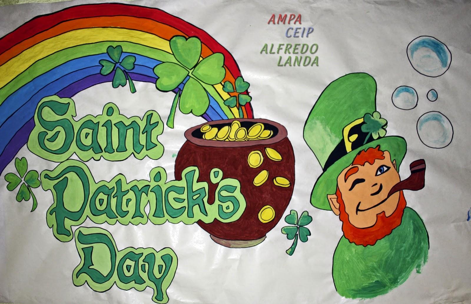 Ampa Ceip Alfredo Landa: Saint Patrick\'s Day!