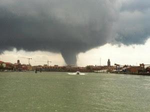 Tornado Venecia, 12 de Junio de 2012