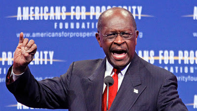 Herman Cain means it's this big