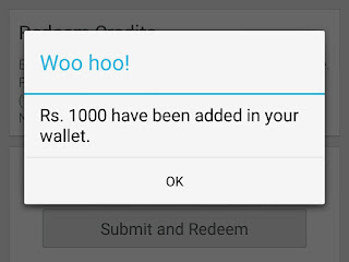 night stay app Rs 1000 wallet credits