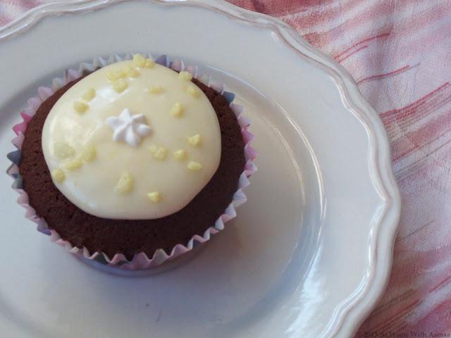 chocolate lemon cupcakes recipe | Halal Home Cooking