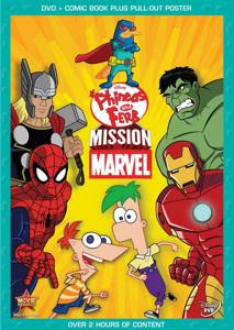 Phineas y Ferb: Mision Marvel – DVDRIP LATINO