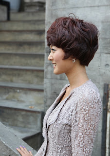 Cute Short Layered Asian Hairstyles 2012