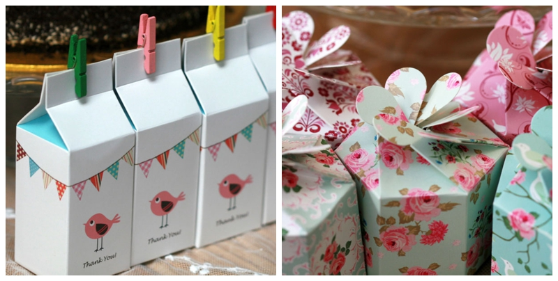 Pretty Wedding Favour Packaging