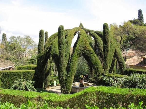 Viajar a barcelona visitar montjuic - Jardines de montjuic ...
