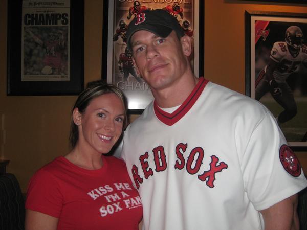 John Cena Elizabeth Huberdeau
