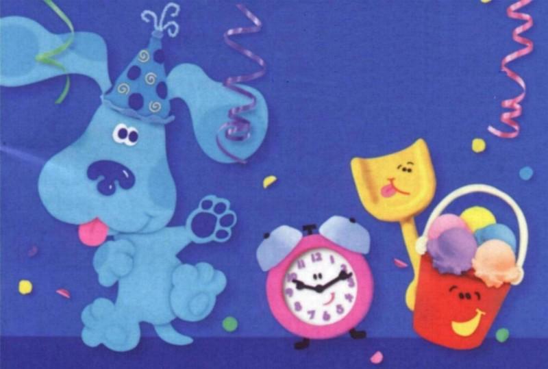 Wayward Girls Crafts PBs 2nd Birthday Party Blues Clues – Blues Clues Birthday Card