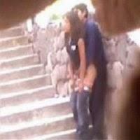 Novinha Flagrada Trepando na Rua - Flagras Amadores - http://www.videosamadoresbrasileiros.com