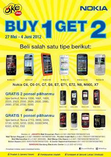 Brosur Nokia Beli 1Gratis 1 – 2 hp Lagi