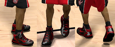 NBA 2K13 Nike Air Max Hyperguard Up Shoes Mod