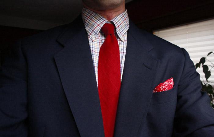 tie, shirt, jacket