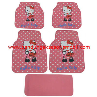 Karpet Hello Kitty Rock Star Pink Guang Zhou