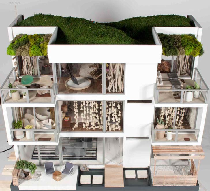 Modern mini houses for Couture house