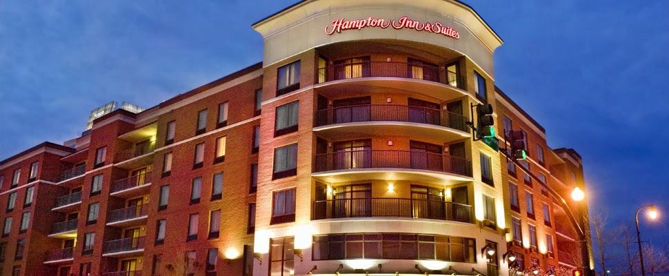 Hampton Hotel giveaway