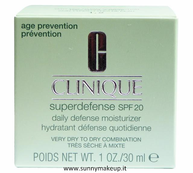 Clinique - Superdefense SPF 20. Crema idratante viso.